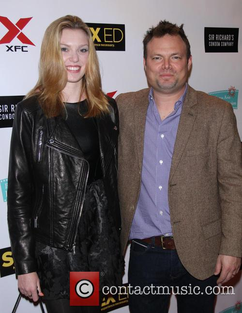 Julia E. King and Director Isaac Feder 1