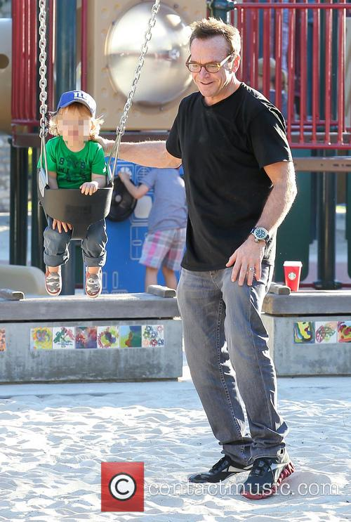 Tom Arnold and Jax Arnold 11