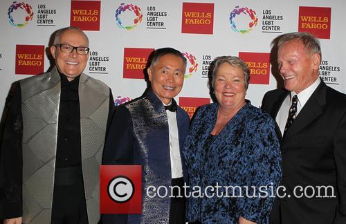 Brad Altman, George Takei, Lori Jean and Tab Hunter 6