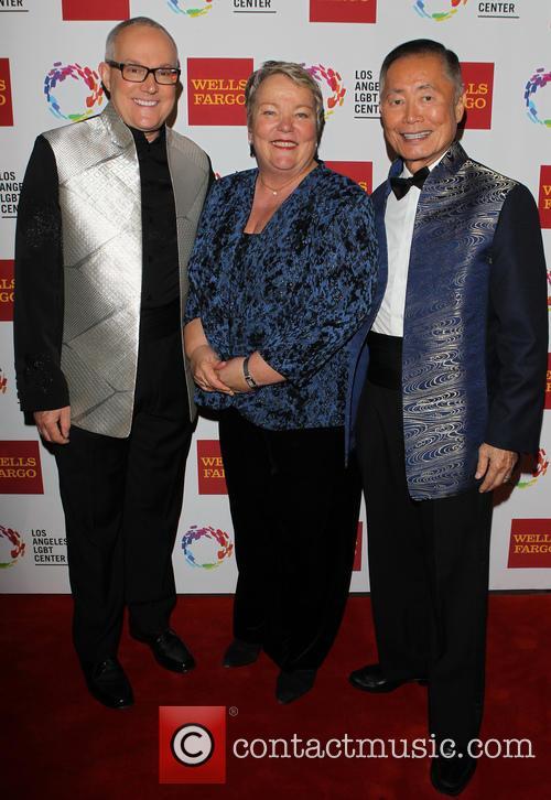 Brad Altman, Lori Jean and George Takei 8