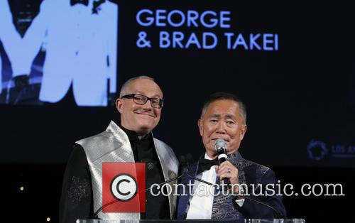 Brad Altman and George Takei 8