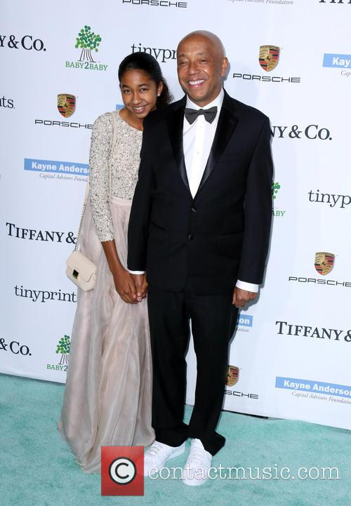 Russell Simmons and Aoki Lee Simmons 2