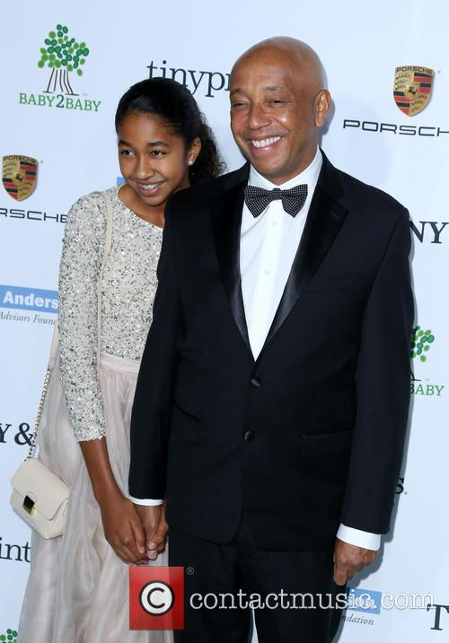 Russell Simmons and Aoki Lee Simmons 1