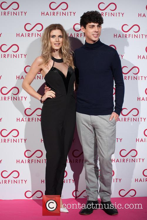 Hairfinity hair vitamins launch party held at Il...