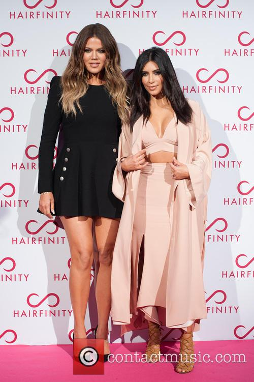 Kim Kardashian West and Khloé Kardashian 2