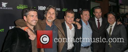 Marc Joubert, Peter Farrelly, Matt Damon, Bobby Farrelly, Ben Affleck and Len Amato 2