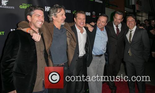 Marc Joubert, Peter Farrelly, Matt Damon, Bobby Farrelly, Ben Affleck and Len Amato 1