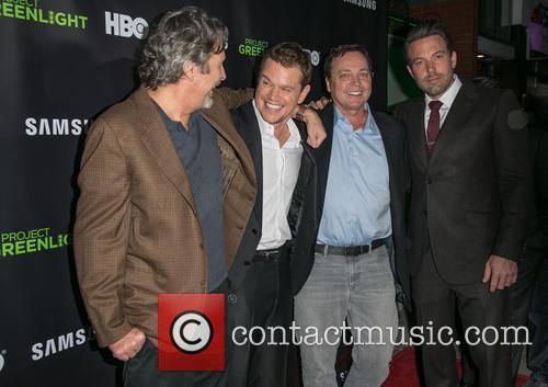 Peter Farrelly, Matt Damon, Bobby Farrelly and Ben Affleck 2