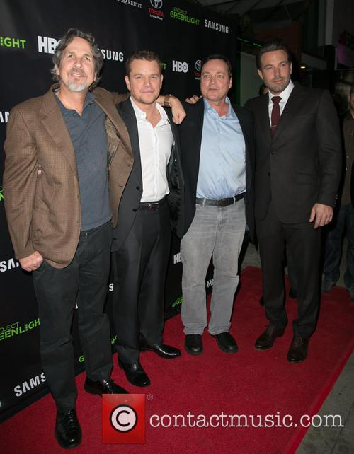 Peter Farrelly, Matt Damon, Bobby Farrelly and Ben Affleck 3