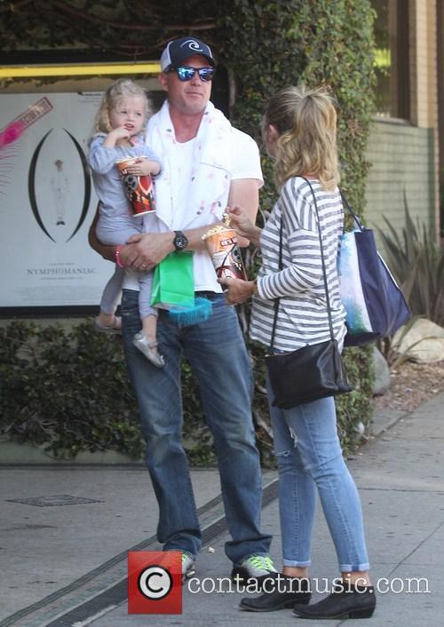 Eric Dane, Rebecca Gayheart and Billie Beatrice Dane 2