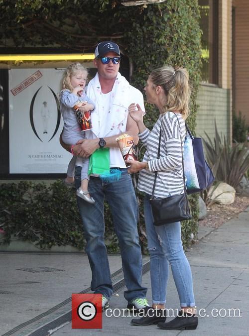 Eric Dane, Rebecca Gayheart and Billie Beatrice Dane 3
