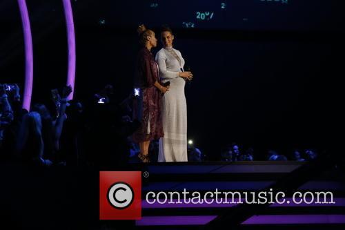 Emilie SantŽ (l) and Alicia Keys 2
