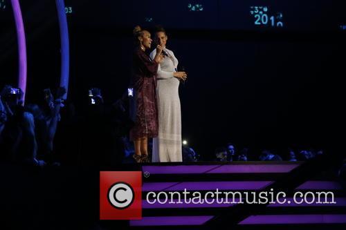 Emilie SantŽ (l) and Alicia Keys 1