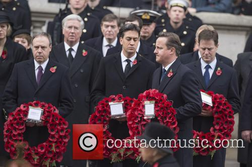 David Cameron, Nick Clegg and Ed Miliband 2