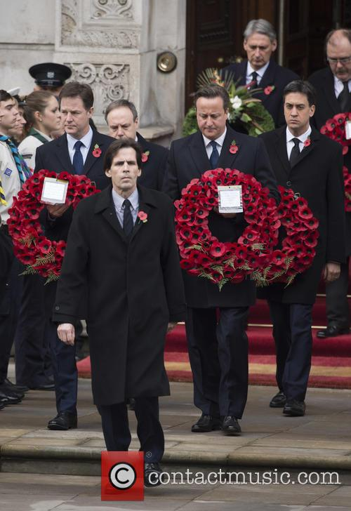Ed Miliband, David Cameron and Nick Clegg 1