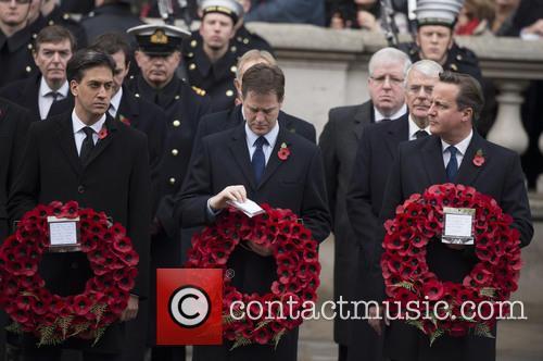 Ed Miliband, Nick Clegg and David Cameron 2