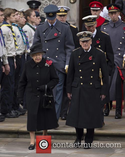 Hrh Queen Elizabeth Ii and Prince Philip Duke Of Edinburgh 2