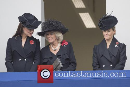 Kate Middleton, Camilla Parker-bowles and Sophie Duchess Of Wessex 2