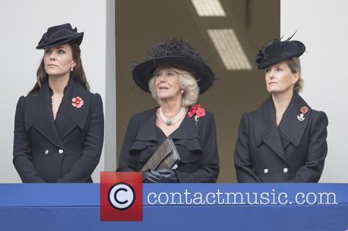 Kate Middleton, Camilla Parker-bowles and Sophie Duchess Of Wessex 3
