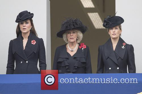 Kate Middleton, Camilla Parker-bowles and Sophie Duchess Of Wessex 5