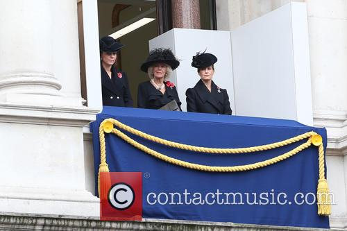 Remembrance Sunday service held at The Cenotaph, Whitehall