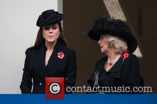 Catherine, The Duchess Of Cambridge, The Duchess Of Cornwall and Kate Middleton 3