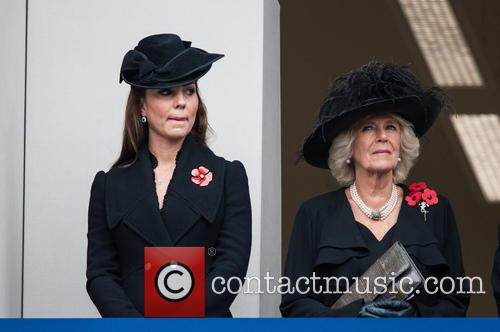 Catherine, The Duchess Of Cambridge and The Duchess Of Cornwall 10