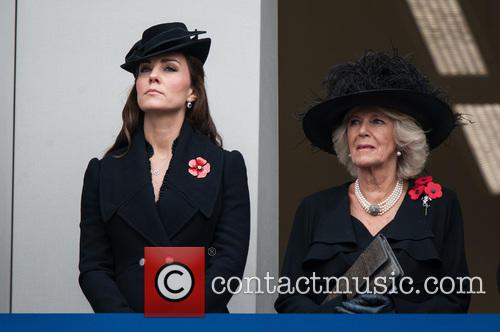 Catherine, The Duchess Of Cambridge and The Duchess Of Cornwall 11