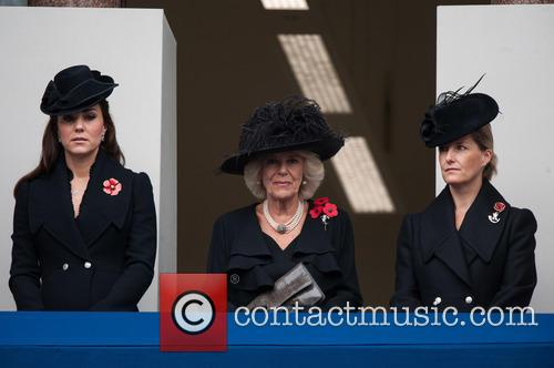 Catherine, The Duchess Of Cambridge, The Duchess Of Cornwall, The Countess Of Wessex and Kate Middleton 6