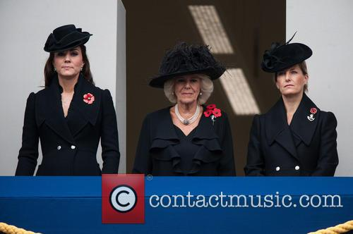 Catherine, The Duchess Of Cambridge, The Duchess Of Cornwall, The Countess Of Wessex and Kate Middleton 7