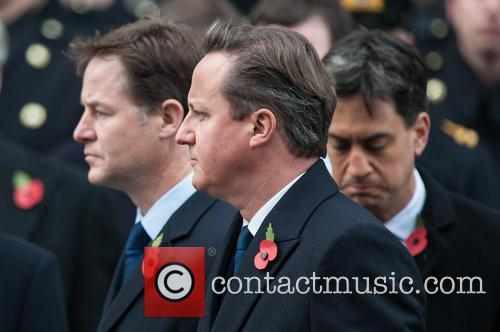 David Cameron, Nick Clegg and Ed Miliband 5