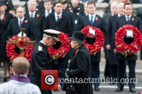 Queen Elizabeth Ii and Prince Charles 10