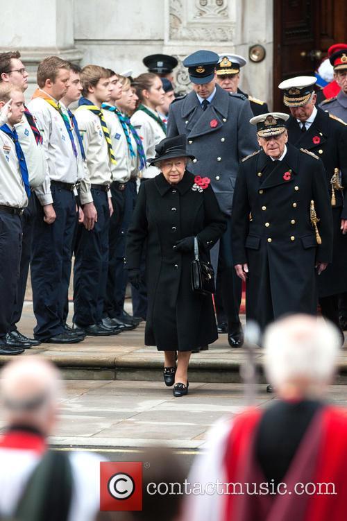 Queen Elizabeth Ii, Prince William, The Duke Of Cambridge, Prince Philip and The Duke Of Edinburgh 2