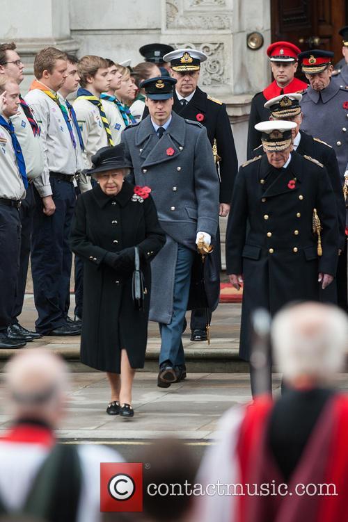 Queen Elizabeth Ii, Prince William, The Duke Of Cambridge, Prince Philip and The Duke Of Edinburgh 3
