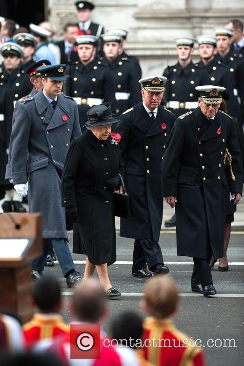 Queen Elizabeth Ii, Prince William, The Duke Of Cambridge, Prince Philip and The Duke Of Edinburgh 4