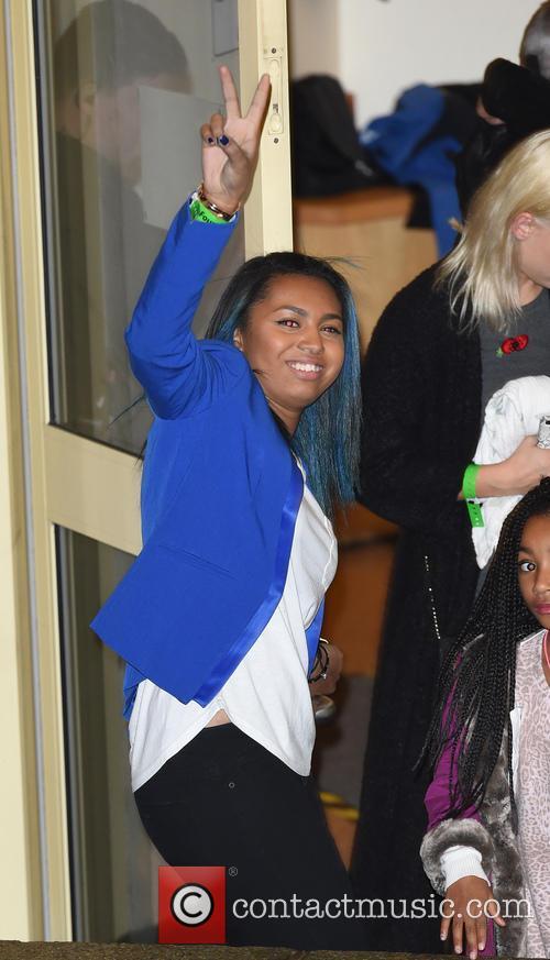 Departures at 'The X Factor' studios