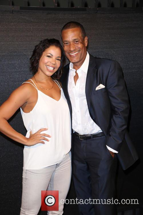 Candice Coke and Phil Morris