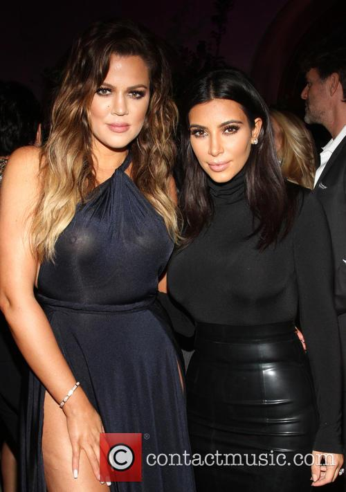 Khloe and Kim Kardashian