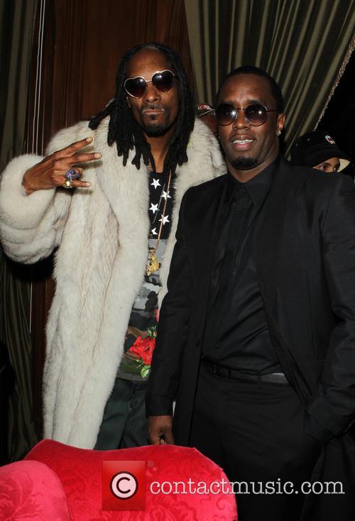 Snoop Dogg Aka Snoop Lion and Sean Combs 2