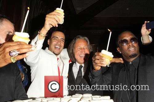 French Montana, Mohammed Hadid and Sean Combs