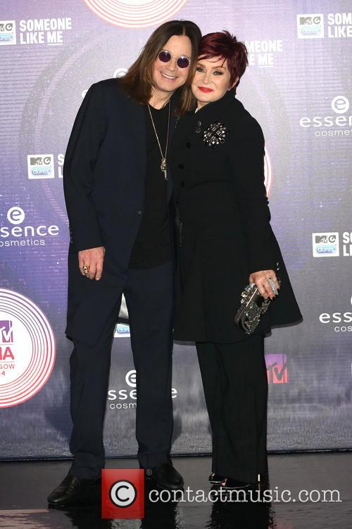 Ozzy Osbourne and Sharon Osbourne 4