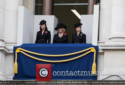 Catherine, Duchess Of Cambridge, Camilla, Duchess Of Cornwall and Kate Middleton 3