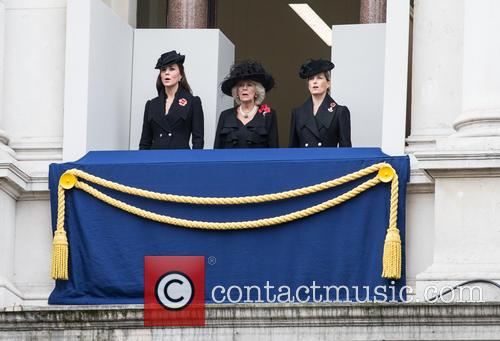 Catherine, Duchess Of Cambridge, Camilla, Duchess Of Cornwall and Kate Middleton 1