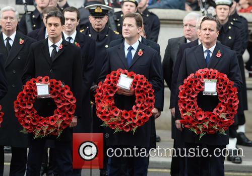 Ed Miliband, Nick Clegg and David Cameron 3