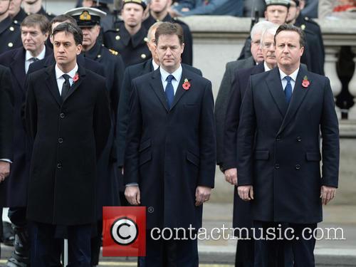 Ed Miliband, Nick Clegg and David Cameron 5