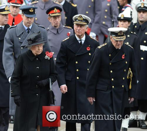 Queen Elizabeth Ii, Prince Charles, Prince William and Prince Phili 5