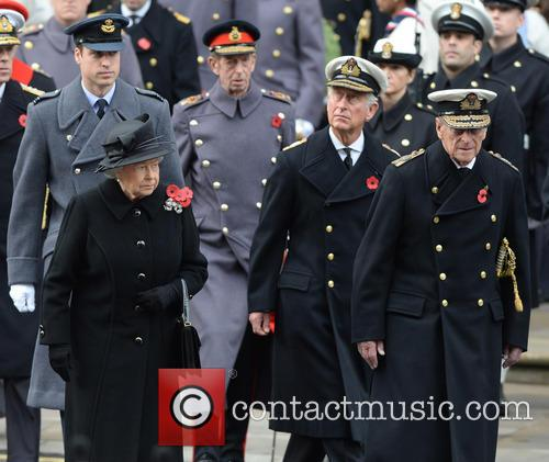 Queen Elizabeth Ii, Prince Charles, Prince William and Prince Phili 1