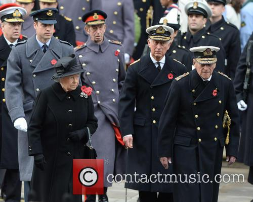Queen Elizabeth Ii, Prince Charles, Prince William and Prince Phili 6