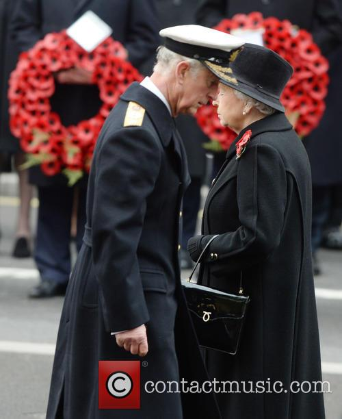 Queen Elizabeth Ii and Prince Charles 7