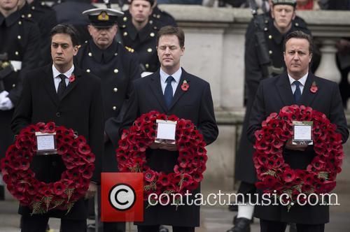 Ed Miliband, Nick Clegg and David Cameron 7